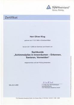 Sachkunde Schimmelpilze - Oliver Klug